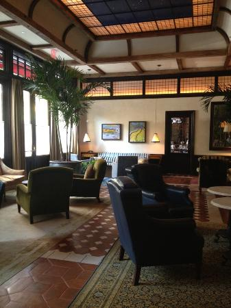 Greenwich Hotel: The hotel lobby - very well decorated