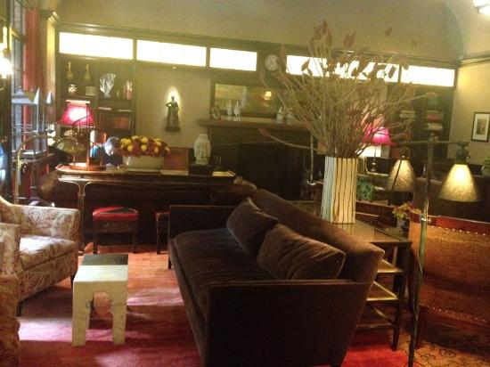 Greenwich Hotel: the drawing room