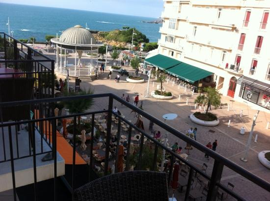 Hotel Florida Biarritz : view from 3rd floor