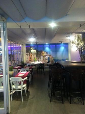 Portofino : salón interior