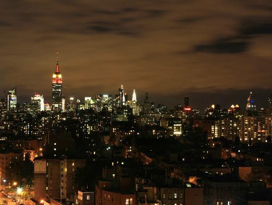 هامبتون إن مانهاتن سوهو: View from 18th floor of Hampton Inn Soho 