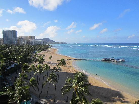 Hilton Hawaiian Village Waikiki Beach Resort: the view from our room