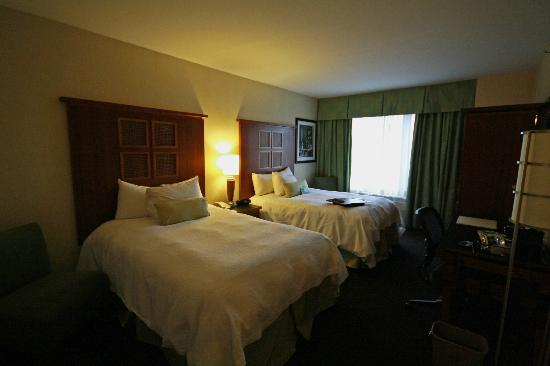 Hampton Inn Manhattan-SoHo: Our room, floor 18