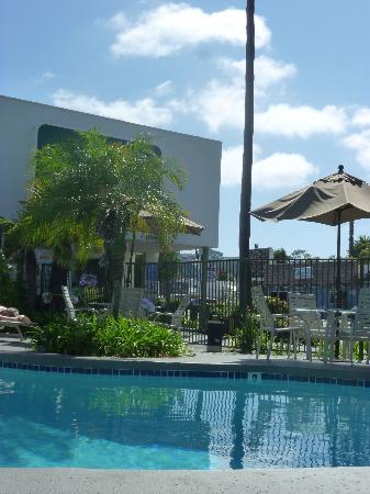 Vagabond Inn - San Diego Airport Marina: Piscine de l'hotel