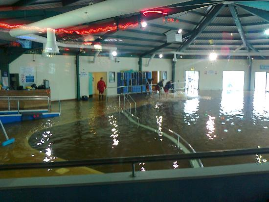 Flooded Pool Picture Of Littlesea Holiday Park Haven Weymouth Tripadvisor