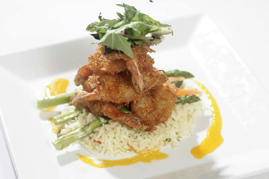 Flippers on the Bay: Coconut Shrimp