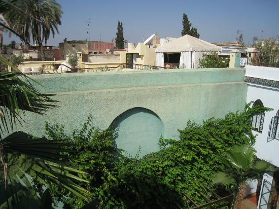 Riad Chergui: View from roof terrace