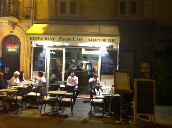 Pause Cafe: terrasse calme à tester
