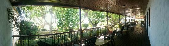 Rio Laura Delta Lodge: Vista Deck