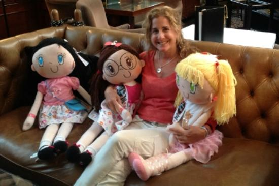 Hotel 41 and the My Friend Huggles Dolls