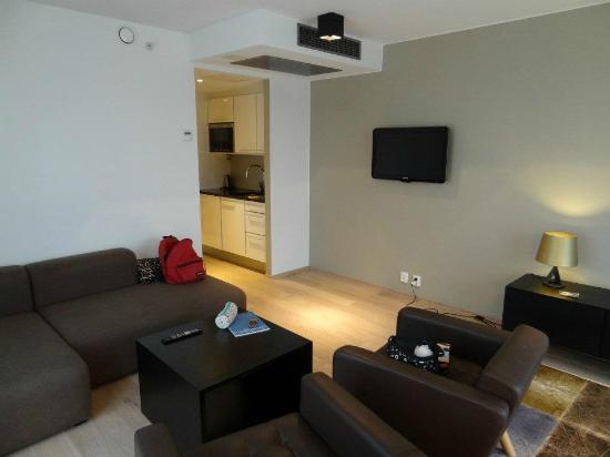 PS:Hotell: Woonkamer