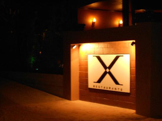 Restaurante X: entrada