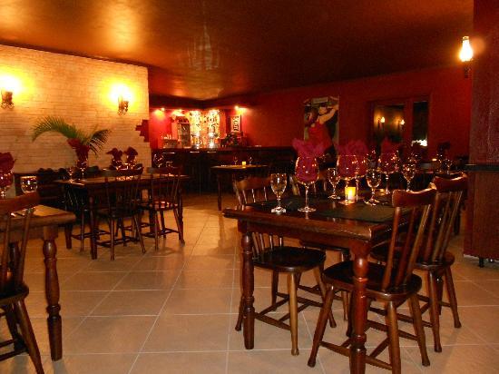 Restaurante X: salão