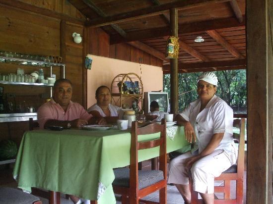 Hotel Canto de Ballenas: Personal atento y amable.