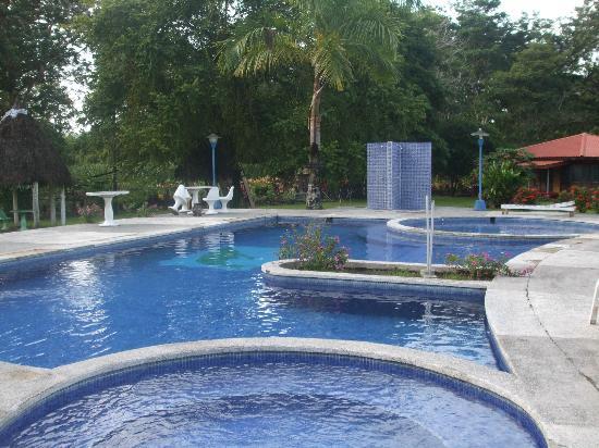Hotel Canto de Ballenas: Agua fresca y confortable