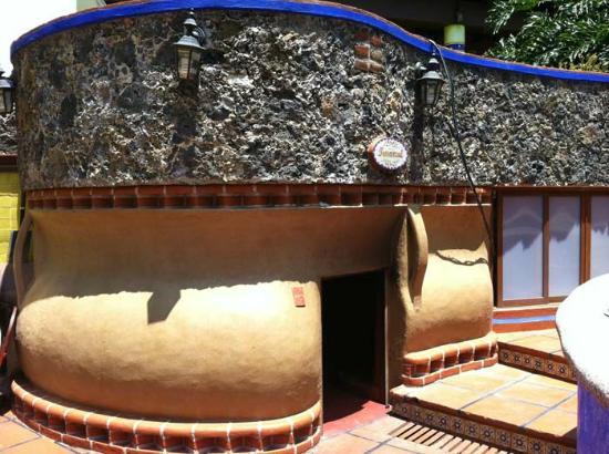Hotel Spa Mi Pueblito: ESTE ES EL TEMAZCAL