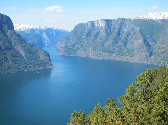 Stegastein Lookout: another view of the fjord