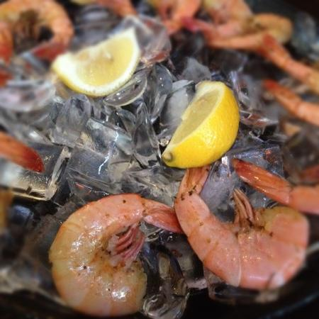Cityfish: boiled shrimp, YUMMY