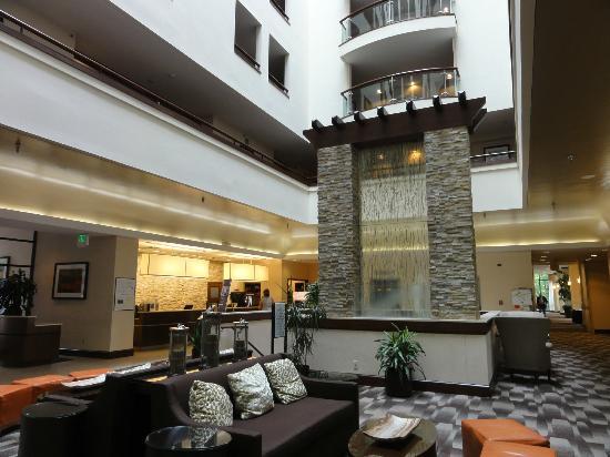 Sheraton Columbia Town Center Hotel: reception area