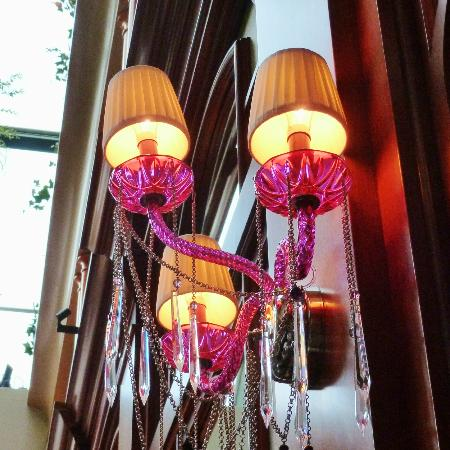Le Saint-Amour: Fun and fab light fixture!