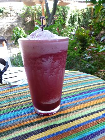 Saberico: hibiscus water!! de-li-cio-us!!!!