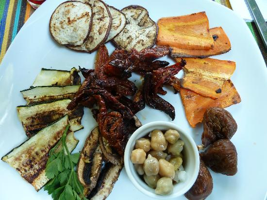 Saberico: Vegetarian Antipasto!
