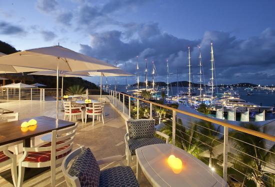 YCCS - Yacht Club Costa Smeralda: Terrace