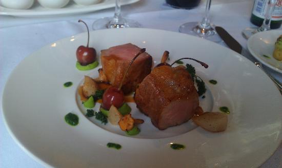 Hotel Bayerischer Hof Erlangen: Pork filet