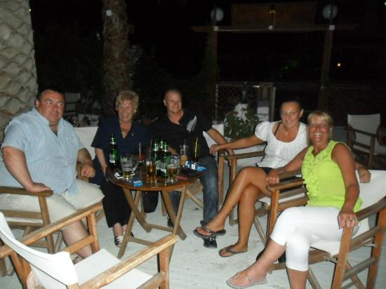 Miros Appartment Hotel: night out with the gang