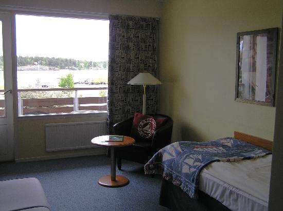 Skargardshotellet: Room 204 with balcony