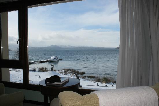 El Casco Art Hotel: Vista del lago desde habitacion