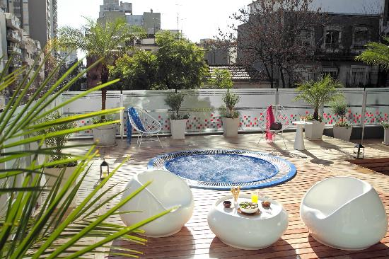 BA Sohotel: Jacuzzi en Área de Relax