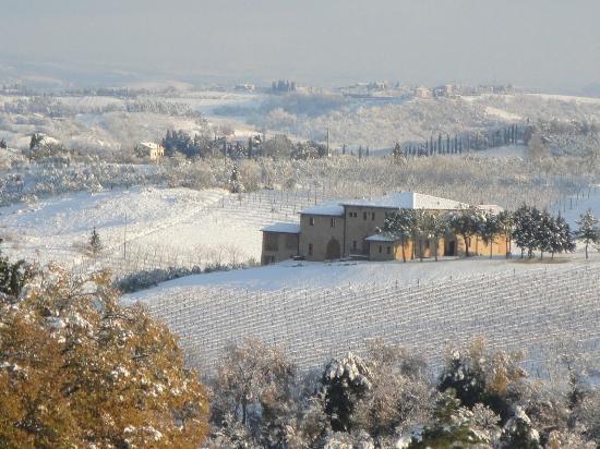 Borgo Tollena: neve a tollena