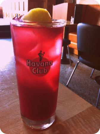 Gladstone Hotel: beet juice & vodka