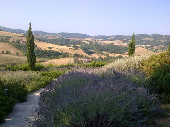 Pianirossi: vue de l'hôtel