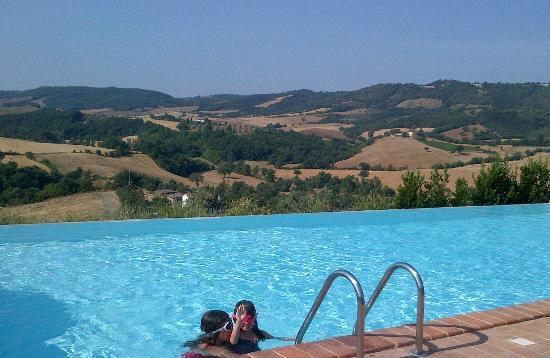 Pianirossi: la piscine