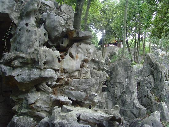 Xishi Cave: Kalksteinlandschaft