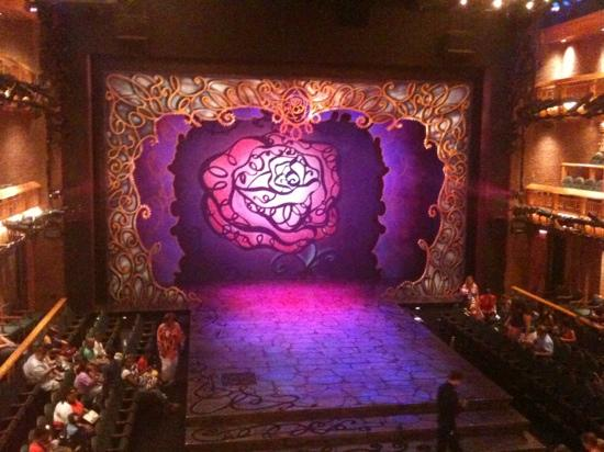 Chicago Shakespeare Theater on Navy Pier: View from the Dress level. every seat is a great seat here!