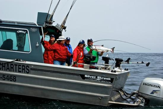 Trailhead Resort: Fishing out of Port Renfrew is terrific