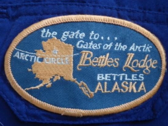 Bettles Lodge: Patch on parka