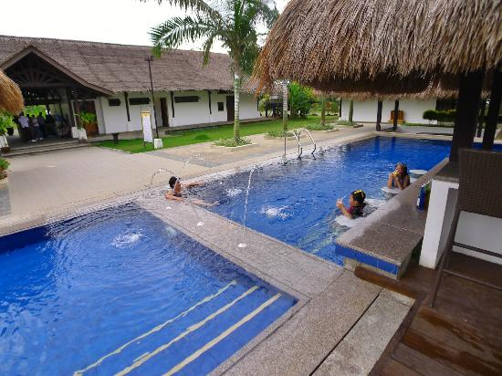 Tagum City, Filipiny: Swim-up bar