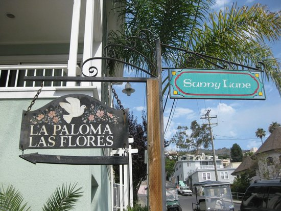 La Paloma Cottages Las Flores: At the end of Sunny Lane
