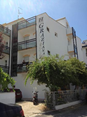 Hotel Graziana, vista laterale