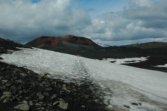 Volcano Hotel: View of Magni crater