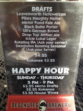 Uncle Uli's Pub: happy Hour