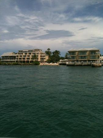 Pier House Resort & Spa : Hotel from the ocean