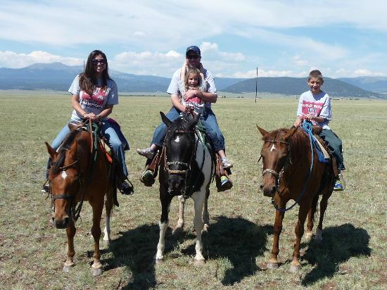 Platte Ranch Riding Stables: Group Photo during ride