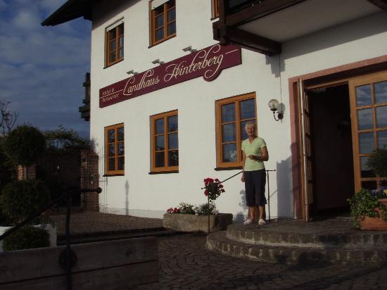 Landhaus Hinterberg entrance