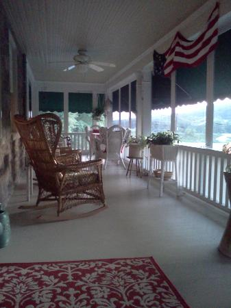 "Living Spring Farm Bed and Breakfast: ""The Porch""   Come sit awhile!"