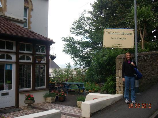 Culloden House: Entrance